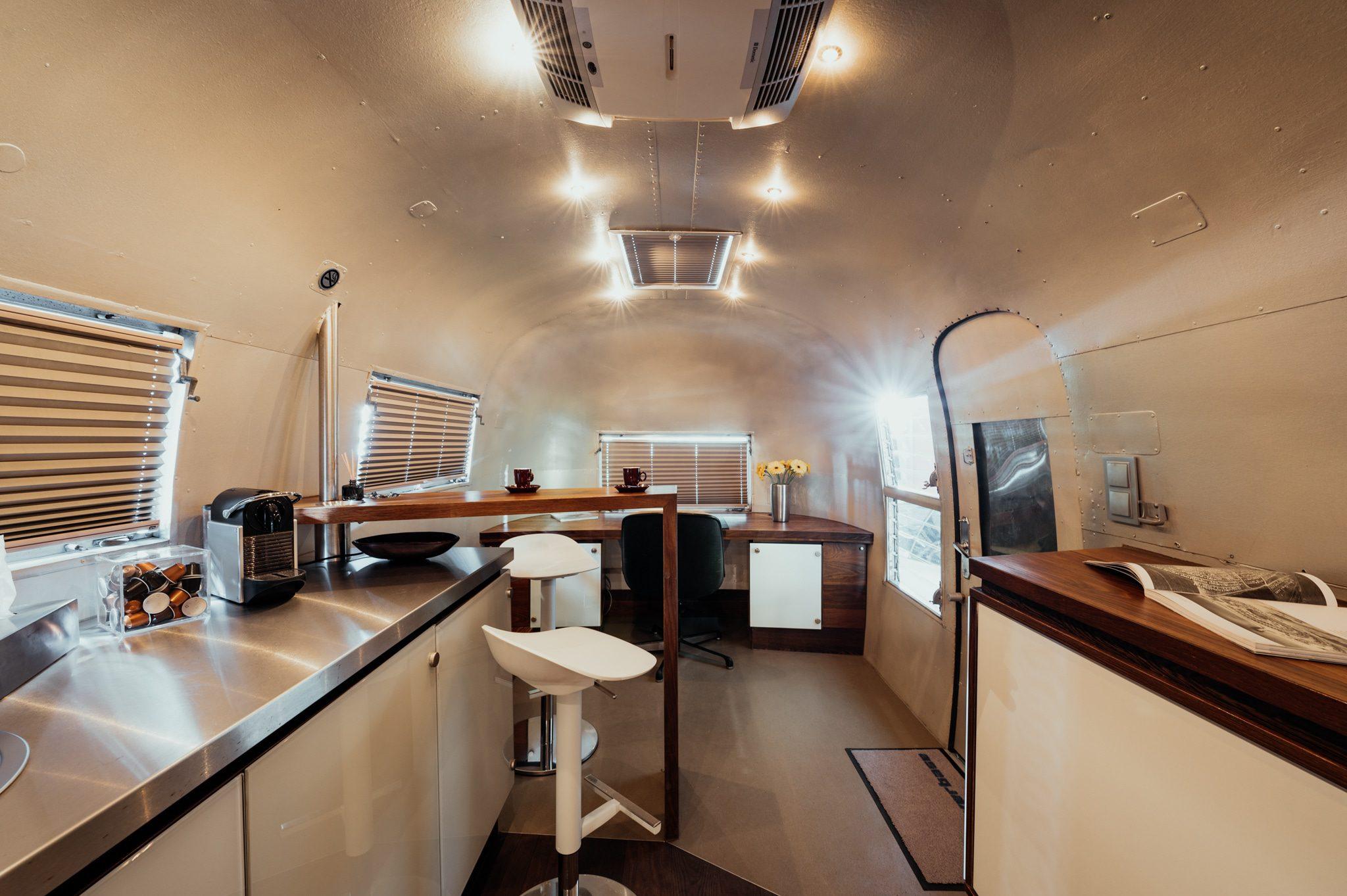 Airstream I innen - Silverbase